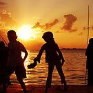 Sunset at Villingili by khadhy