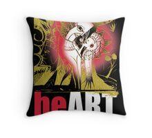 heART is love Throw Pillow