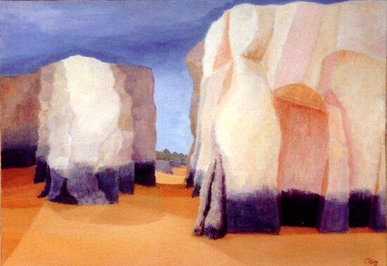 Gap in the Rocks by Chris King
