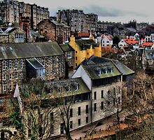 Dean Village Edinburgh by davey lennox