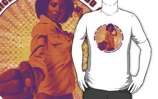 Pam Grier - KICK ASS FLICKS with BADD ASS CHICKS by superiorgraphix