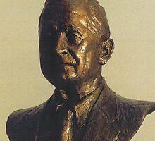 Bronze bust by vgbg