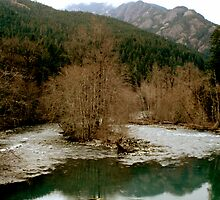The Elwha River  by KMycia