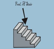 Fred, A Stair by Kimberly Temple