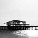 Brighton West Pier by Vicki Isted