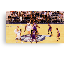 The Tip Off.... Canvas Print