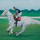 Desert Orchid, Ridden by Simon Sherwood by William Forbes