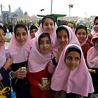 School Girls-Esfahan by desertsea
