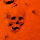 Teotihuacan skull by johnny hancen