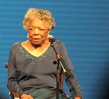 Maya Angelou by maxy