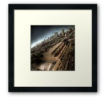The Big Smoke Framed Print
