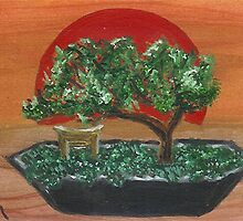 Bonsai Sunset by Carol Megivern