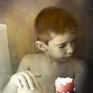 Boy & Apple by dmcart