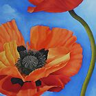 Sky full of Poppies by Kim Bender