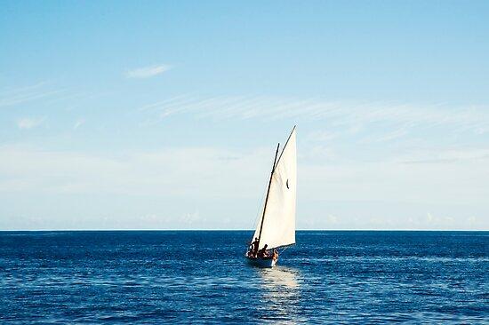 Sailing boat by mrfotos