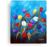 Tulips Galore II Canvas Print