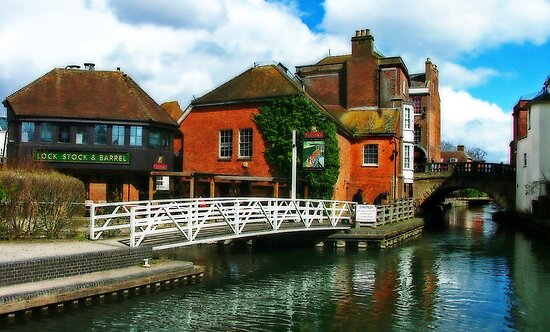 The Lock Stock and Barrel, Newbury  by Colin J Williams Photography