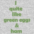 green eggs and ham by Dee Boylan