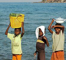 Malawi Boys by DUNCAN DAVIE