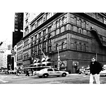 On the streets of New York (USA) Photographic Print