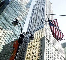 Chrysler Building New York by Jean M. Laffitau