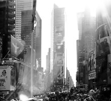 Broadway New York by Jean M. Laffitau