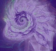 The purple swirl by CanDuCreations