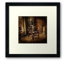 Man Of Mystery   Framed Print