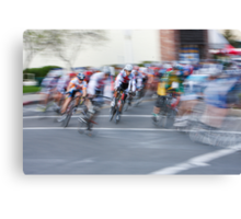 One Lap to Go... Canvas Print
