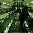 Escalator by Richard Leeson