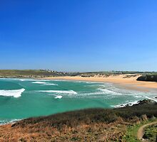Crantock Bay by cwwphotography