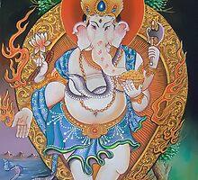 Lord Ganesha by biku7