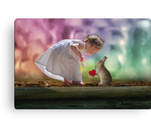 Darling Friends Canvas Print