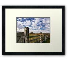Alberta Farm Framed Print