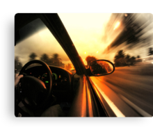 Speed... Canvas Print