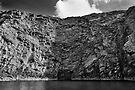 Cliffs of Bressay, Shetland by Richard Ion