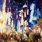 City Nightlights 2 by Franko Camue