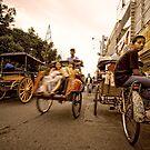 Marlioboro Street - Yogyakarta, Indonesia by Stephen Permezel