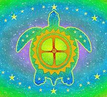 World Turtle by Jan Landers