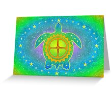 World Turtle Greeting Card