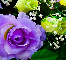Flowers by ShahnaChristine .