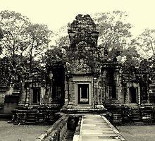 Angkor Wat Temples  by Noel  Dykes