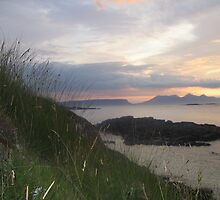 The Isles from Morar by frenzee