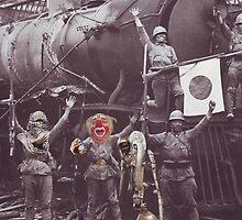 """A Clowns War Diaries""...... by atomikboy"