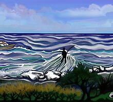 Fishing Rock by Derek Went