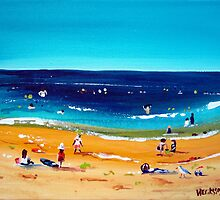 Beach Activity by Wendy Eriksson
