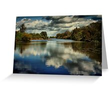 Delta Meadows Greeting Card