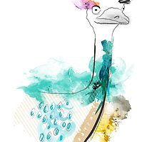 Dreamy Emu by Tiffany Atkin