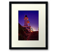 """Stairway to the Light"" Framed Print"