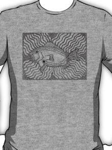 Aarl - fish / Back in black T-Shirt